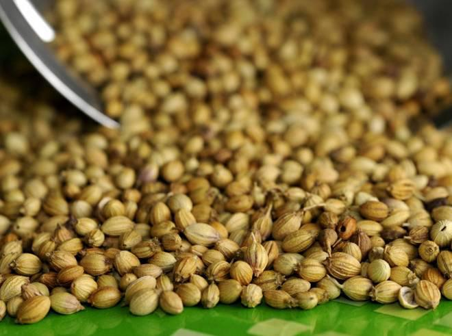 Coriander seeds price per kg in Bangalore